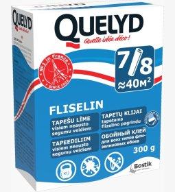 Tapetų klijai  QUELYD FLISELIN, 300 g Skirti tapetams flizelino pagrindu,