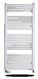 Rankšluosčių džiovintuvas-kopetėlės THERMAL TREND KD60/132TH Matmenys 132 x 60 cm, baltos spalvos, tiesios