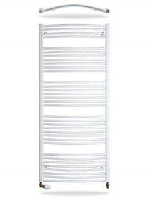 Rankšluosčių džiovintuvas-kopetėlės THERMAL TREND KDO60/132TH Matmenys 132 x 60 cm, baltos spalvos, lenktos