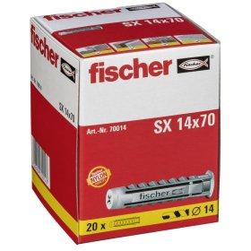 Kaiščiai FISCHER SX, 14 x 70 mm, 20 vnt.
