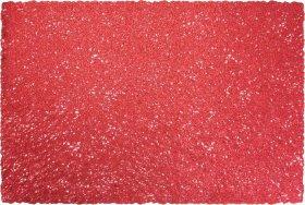 Stalo padėkliukas, stačiakampis, raudonos sp., 45 x 30 cm.