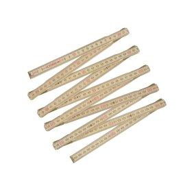 Medinis sulankstomas metras STANLEY, 2 m (0-35-455)