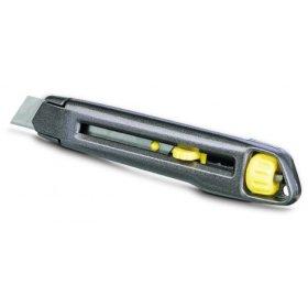 Peilis išstumiamais ašmenimis prisukamas metalinis STANLEY 0-10-018