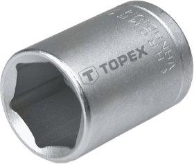 Šešiakampė galvutė TOPEX 38D722