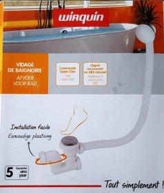 Sifonas voniai WIRQUIN QUICK-CLAS kilmės šalis Prancūzija