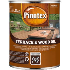 Aliejus medienai PINOTEX TERRACE&WOOD OIL, 1 l, tikmedžio sp.