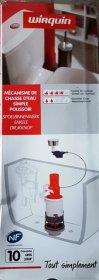 Vandens nuleidimo mechanizmas WIRQUIN MD2 viengubas, kilmės šalis Prancūzija