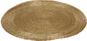 Stalo padėkliukas, auksinės sp., 30 cm.