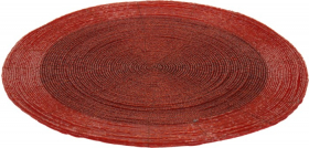 Stalo padėkliukas, raudonos sp., 30 cm.