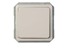 Jungiklis  VILMA SP30 Baltos spalvos, 1 klavišo, įleidžiamas, P110-010-02,