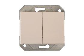 Jungiklis VILMA XP 500, 2 kl., įleidž., baltas, su pašviet., P510-020-12