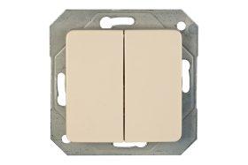 Jungiklis VILMA SL 250, 2kl, įleidž., su lemp, smėlio sp., P510-020-12