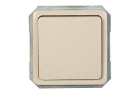 Jungiklis VILMA SP 300, 1 klavišo, įleidžiamas, dramblio kaulo spalvos, P110-010-02