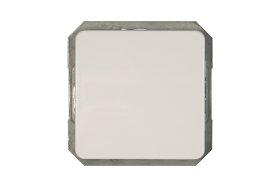 Perjungiklis VILMA LX 200, 1 kl., įleidž., baltos sp., P610-010-12