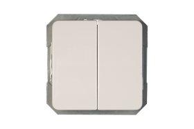 Perjungiklis VILMA LX 200, 2 klavišų, baltos sp., P(6+6)10-020-02