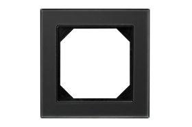 Rėmelis  LIREGUS EPSILON 1 vietos, stiklas, juodos spalvos, K14-245-01 E/BG,