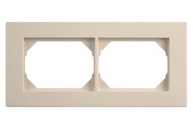 Rėmelis  VILMA XP 500 2 vietų, baltos spalvos, R02,