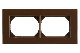 Rėmelis  VILMA XP 500 2 vietų, rudos spalvos, R02,
