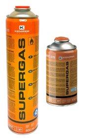 Propano - butano dujų mišinys KEMPER KEMAP Supergas, 600 ml, darbinė temperatūra 1850*C