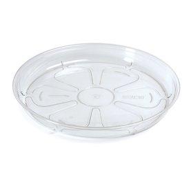 Plastikinis padėkliukas, COUBI, bespalvis, skersmuo 14 cm.