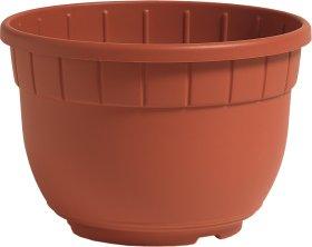 Plastikinis vazonas su lėkšte SIENA