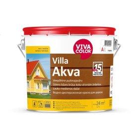 Medinių fasadų dažai VIVACOLOR VILLA AKVA, 2,7 l, A bazė