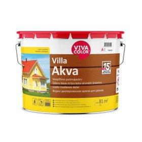 Medinių fasadų dažai VIVACOLOR VILLA AKVA, 9l, A bazė