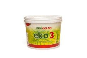 Dispersiniai dažai EKOCOLOR EKO 3, 3l
