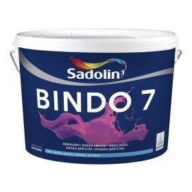 Vandeniniai vidaus dažai SADOLIN BINDO 7, 10 l, BW bazė, balti, matiniai, ST