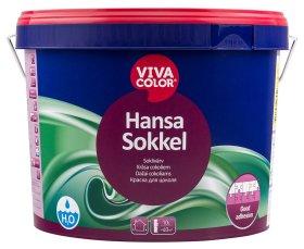 Vandeniniai akriliniai cokolių dažai VIVACOLOR HANSA SOKKEL, 9 l