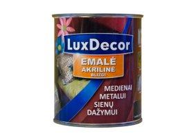 Universalus akrilinis emalis LUXDECOR 0,4 l