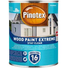 Medinių fasadų dažai PINOTEX WOOD PAINT EXTREME, 0,95 l, BM bazė, baltos spalvos, N