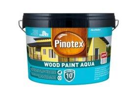 Medinių fasadų dažai PINOTEX WOOD PAINT AQUA, 2,5 l, BW bazė