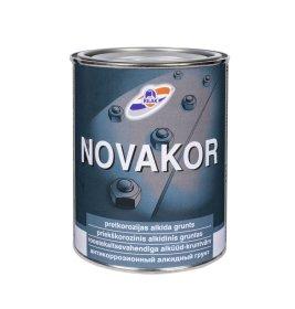 Metalo gruntas RILAK NOVAKOR, 0,9 ,l šv. pilkos sp., greitai džiūstantis