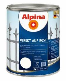 Antikoroziniai dažai ALPINA DIREKT AUF ROST, 0,75 l