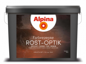 Dekoratyviniai dažai ALPINA Rost-Optik Set