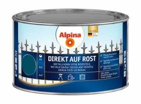 Antikoroziniai dažai ALPINA DIREKT AUF ROST, 0,3 l, blizgūs, ryškiai mėlynos spalvos