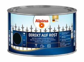 Antikoroziniai dažai ALPINA DIREKT AUF ROST, 0,3 l, blizgūs, juodos spalvos