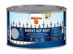 Antikoroziniai dažai ALPINA DIREKT AUF ROST, 0,3 l, blizgūs, sidabrinės spalvos