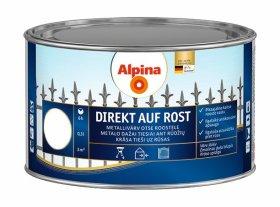 Antikoroziniai dažai ALPINA DIREKT AUF ROST, 0,3 l, blizgūs, baltos spalvos