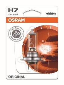 Automobilinė lemputė, halogeninė OSRAM H7 55W/12V, L64210-01B