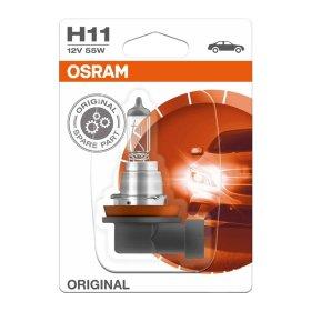 Automobilinė lemputė OSRAM Original H11 55W 12V PGJ19-2, 1 vnt.