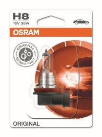 Automobilinė lemputė OSRAM Original H8 35W 12V PGJ19-1, 1 vnt.