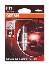 Automobilinė lemputė  OSRAM NIGHT BREAKER SILVER H1 12V/55W