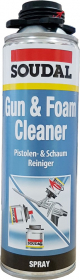 Poliuretano putų valiklis SOUDAL GUN&FOAM CLEANER, 500 ml