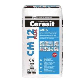 Plytelių klijai CERESIT CM12 ELASTIC PLUS, 25 kg