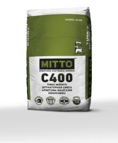 Tinko mišinys MITTO C400, 40 kg