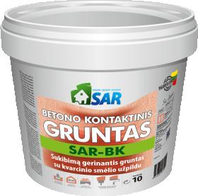 Betono kontaktinis gruntas SAR SAR-BK, 10 kg