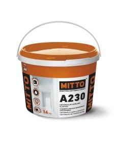 Universalus akrilinis glaistas MITTO A230, 16 kg