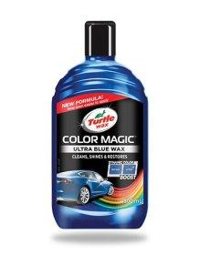 Polirolis Turtle Wax COLOR MAGIC mėlynas, 0.5 l